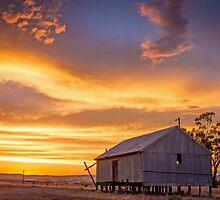 Rural Sunset by Georgina Steytler
