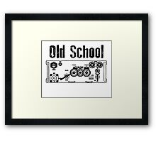 Old School PRC 77 Framed Print