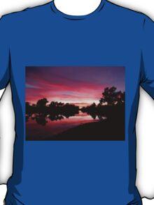 Sunset at Bilyuin Pool - WA T-Shirt