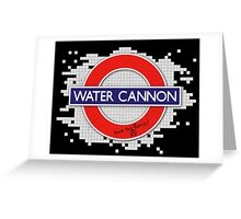 Water Cannon Greeting Card