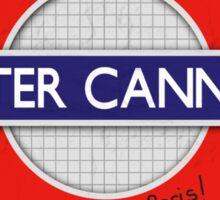 Water Cannon Sticker