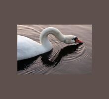 Swan sipping Unisex T-Shirt