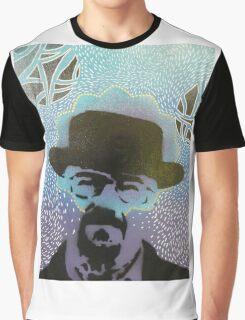 Stencil Blue Graphic T-Shirt