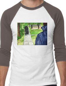 Pigoween - Merricat and Michael Myers Men's Baseball ¾ T-Shirt
