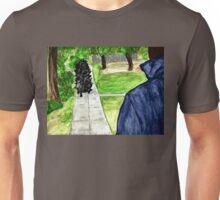 Pigoween - Merricat and Michael Myers Unisex T-Shirt