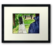 Pigoween - Merricat and Michael Myers Framed Print