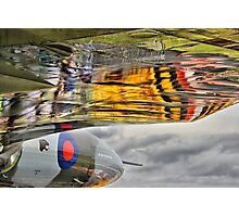 Vulcan Reflections Farnborough 2014 Photographic Print