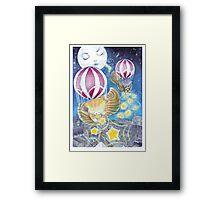 Kittens in Clogs Framed Print