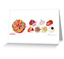 Spicy Chili & Friends Greeting Card