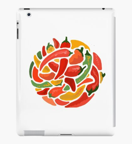 Spicy Chili & Friends iPad Case/Skin
