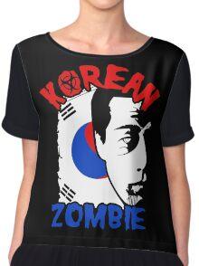 The Korean Zombie - Chan Sung Jung Chiffon Top