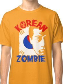 The Korean Zombie - Chan Sung Jung Classic T-Shirt