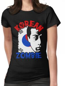 The Korean Zombie - Chan Sung Jung Womens Fitted T-Shirt