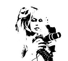 Brigitte Bardot Holds A Camera by Museenglish