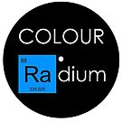 Colour Radium Blue - Record by Ry Bowie-Woodham