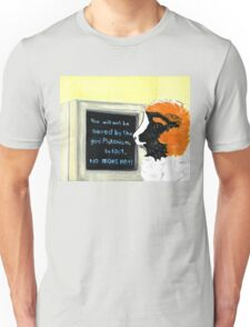 Pigs of Darkness - Horace uses the computer Unisex T-Shirt