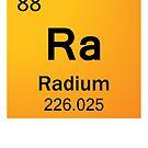 Colour Radium - Orange Radium by Ry Bowie-Woodham