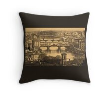 Firenze by night Throw Pillow