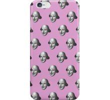 Shakespeare Etching Pattern (Pink) iPhone Case/Skin