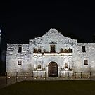 Alamo at Night by Terence Russell