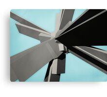 Abstract Rectangular Slabs Canvas Print