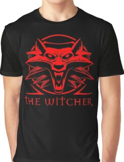 The Witcher Red Graphic T-Shirt