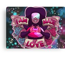 I am made of LOVE Canvas Print