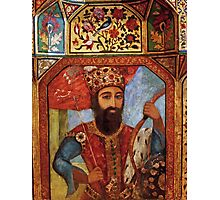 Wall Detail from Golestan Palace Photographic Print
