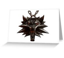 The Witcher Neckless Greeting Card
