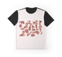 Lost of Red Foxes-original Graphic T-Shirt