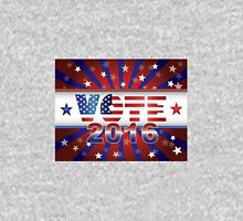 Vote 2016 Presidential Election On USA Flag Background Illustration Unisex T-Shirt