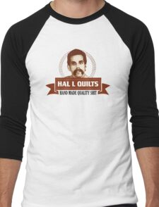Hal L Quilts Hand Made Quality Happy Gilmore Men's Baseball ¾ T-Shirt