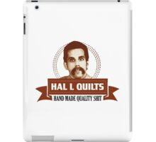 Hal L Quilts Hand Made Quality Happy Gilmore iPad Case/Skin