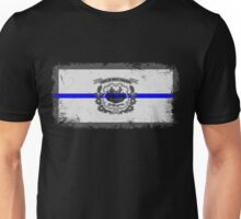 Blue Line West Virginia State Flag Unisex T-Shirt