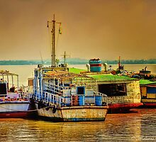 Yangon Harbour 2 by wallarooimages