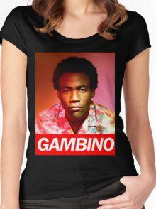 gambino Women's Fitted Scoop T-Shirt