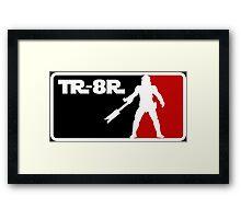 Loyal Trooper TR-8R Logo Framed Print