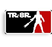 Loyal Trooper TR-8R Logo Canvas Print