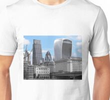 Cityscape - London; Blue  Unisex T-Shirt