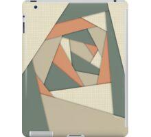 Earth Tone Shapes Construct iPad Case/Skin