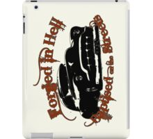 Forged in Hell iPad Case/Skin