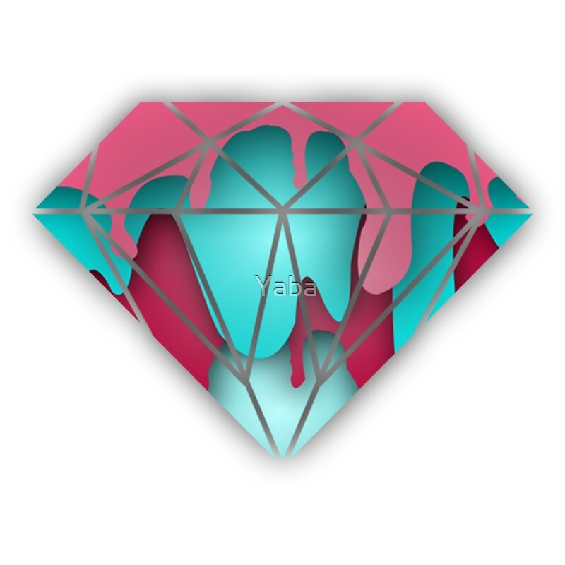 Drippin Diamond: Dripping Diamond: Art Prints
