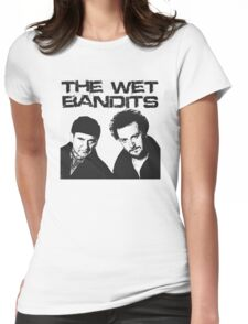 Wet Bandits  Womens Fitted T-Shirt