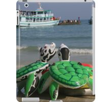 Stranded turtles iPad Case/Skin