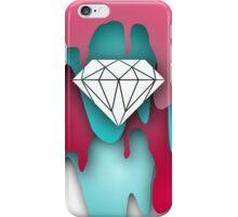 Diamond on Drip iPhone Case/Skin