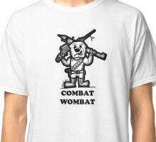 Combat Wombat Classic T-Shirt