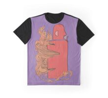 Steaming Off Graphic T-Shirt