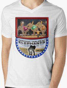 Periodic Tables of Elephants Mens V-Neck T-Shirt