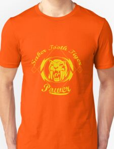 Saber Tooth Tiger Power Unisex T-Shirt