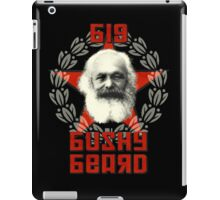 Big Bushy Beard iPad Case/Skin